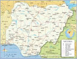Map Of Mali Africa by Administrative Map Of Nigeria Nations Online Project