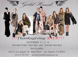 Thursday Thanksgiving Sales California Southern Warehouse Sales Whsale