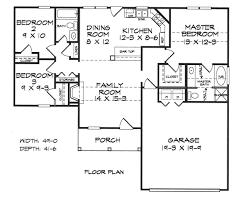 Garage Depth Strickland House Plans Home Builders Floor Plans Blueprints