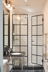 take standard shower doors and add lead flashing for crittal