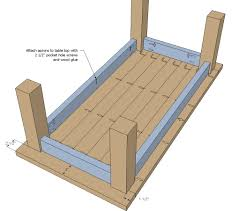 Free Woodworking Plans Round Coffee Table by Ana White Updated Tryde Coffee Table Pocket Holes Diy Projects