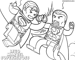 lego marvel superheroes coloring pages lego dc universe super
