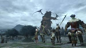"First Video Footage of Final Fantasy XIV ""Raid"" Revealed"