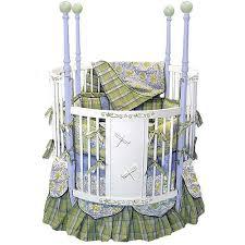 dragonfly dreams round crib and nursery necessities in interior