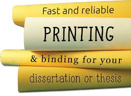 Dissertation  amp  Thesis Printing and Binding Oxford   Summertown     Mail Boxes Etc
