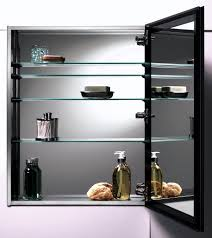 stainless steel wall mounted modern bathroom storage cabinet with