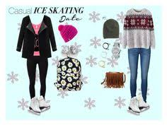 Quiz  Which Activity Should You Add to Your Winter Break Bucket     Pinterest  quot Casual Ice Skating Date Outfits quot  by fionabelle     liked on Polyvore featuring Vero Moda   quot