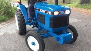1993 ford 1720 tractor mower for sale youtube