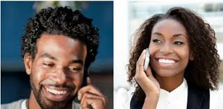 On the phone Dating For Black   Mixed Race Singles