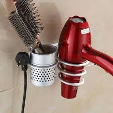 wall mounted hooded hair dryer hair dryer and flat iron holder u2014 modern home interiors how to
