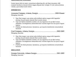 Carterusaus Outstanding Executive Resume Samples Professional