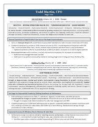 Executive Resume Writer Laura Smith Proulx   Award Winning CFO     Award Winning CFO Resume   Executive Resume Writing Services