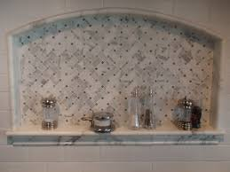 marble mosaic tile backsplash in bloomfield hill and birmingham