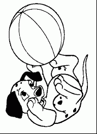 magnificent dalmatians puppy coloring pages with 101 dalmatians