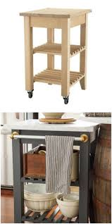 Marble Top Kitchen Island Cart by The 25 Coolest Ikea Hacks We U0027ve Ever Seen Portable Kitchen