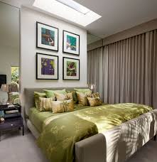 small bedroom colors and designs with stylish four oil painting