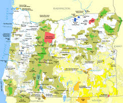 Oregon Map by Land Use In Oregon Wikipedia