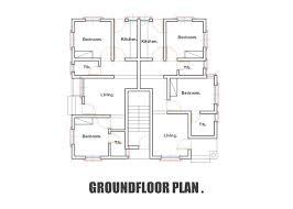 4 bedroom bungalow floor plans in nigeria