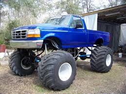 how many monster jam trucks are there massive blue lifted ford monster f 150 truck ford f150 trucks