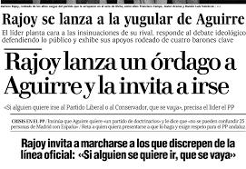 Rajoy radical