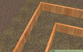 How To Build A Small Shed Step By Step by How To Build A Concrete Foundation 7 Steps With Pictures
