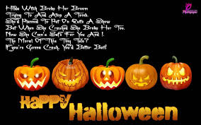 Halloween Party Poems 70 Beautiful Halloween Wishes Pictures