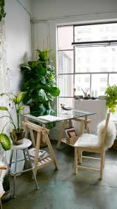 Office Desk Plants by Glass Desk U2013 The Most Beautiful Accessory For Your Minimalist