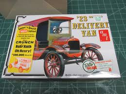 Old Ford Truck Model Kits - amt 1 25 1923 ford model t delivery model kit review youtube