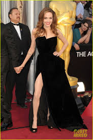 angelina jolie brad pitt oscars 2012 red carpet 05
