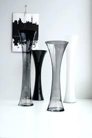 Decorative Glass Vases Cheap Square Glass Vases Hajek 3 Piece Floor Vase Set Mercury