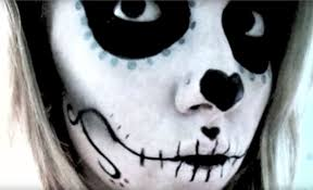 how to look scary for halloween the 15 best sugar skull makeup looks for halloween halloween