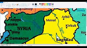 Iraq Syria Map by Blank Maps Iraq And Syria Youtube