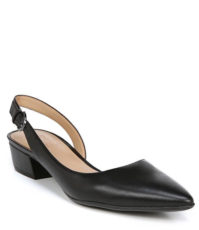 Naturalizer Banks Dress Shoes Black- Womens