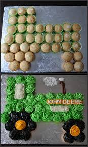 John Deere Kids Room Decor by John Deere Tractor Cupcake Cake For My Son U0027s 7th Birthday