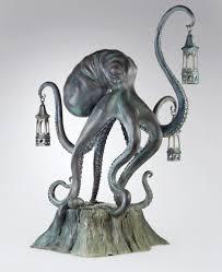 Octopus Lamp Walktopus 5 U0027 Tall Bronze Boing Boing