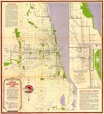 Chicago Suburbs Map Chicago In Maps