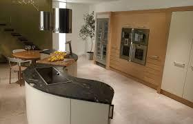 round kitchen island designs modern stove and sink under cabinet