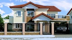Two Story Floor Plan Two Storey House Design With Floor Plan Youtube