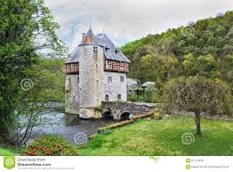 Small Castle by Mansion Stock Photo Image 61142348