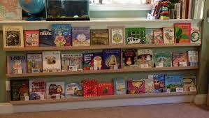 homeschooling 3 our new bookshelves