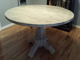 expandable pedestal dining table