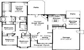 47 small house floor plans ranch ranch house plan weston 30 085