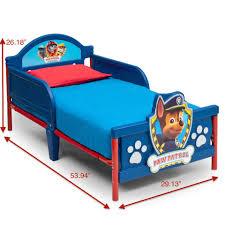 Toddler Beds Nj Nickelodeon Paw Patrol 3d Toddler Bed Toys