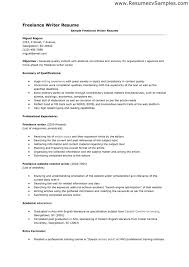 Resume Examples  Freelance Writer Resume Template  freelance     Resume Examples  Freelance Writer Resume Template With Personal Contact And Summary Of Qualifications Or Professional