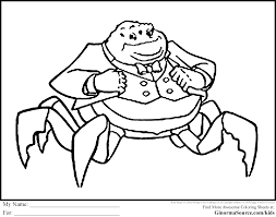 monsters inc coloring pages waternoose coloring pages