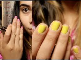 how to remove acrylic gel nails at home using household items