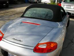 Porsche Boxster Trunk - porsche tops and seats recovered by mrstitch