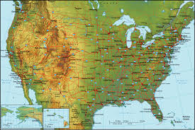 Blank State Map Of Usa by United States Map Click And Learn United States Political Map Map