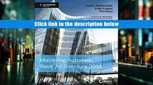 free download mastering autodesk revit architecture 2014
