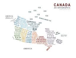 Canada On The Map by Map Of Canada According To Toronto Canada Related Humour My About